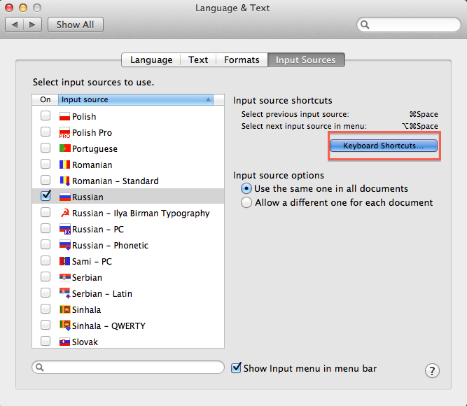 How To Install The Cyrillic Keyboard For Mac Learnrussian Speak Russian