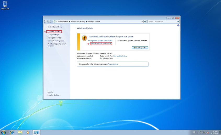 how to check current service pack windows 8