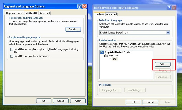 How to Install the Cyrillic Keyboard for Windows XP on Your
